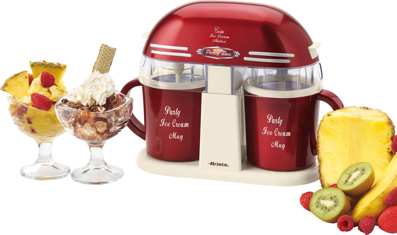 Twin ice cream maker un 39 occasione al giorno piccoli Ice maker maker